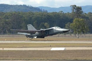 On March2006 a General Dynamics F-111 Aardvark loses a wheel during takeoff at Amberley RAAF base after Entire wheel including the whole rim, the Brake mechanism fallenoff during takeoff Pilot Petercoma and air-combatofficer luke warner was flying F-111.