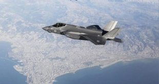 Israeli TV airs photo of F-35 flying over Lebanese capital Beirut
