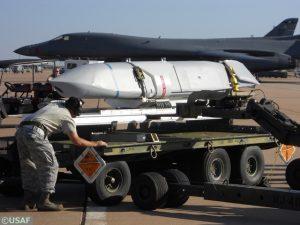B-1B tested Long Range Anti-Ship Missile