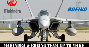 Mahindra & Boeing team up to make F/A-18 Super Hornet fighters in India