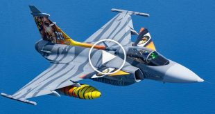 Saab JAS 39 Gripen swedish Multi-role Fighter Aircraft