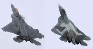 Super maneuverability Comparison F-22 Raptor vs Sukhoi Su-57