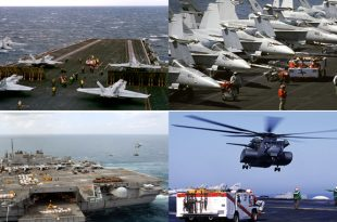 This Is What Happen When An Aircraft Carrier Goes To War