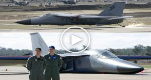 Two inexperienced F-111 pilots made belly landing using a retractable hook