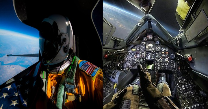 When two SR-71 Pilots ejected at Mach 3 due to Midair Disintegrating
