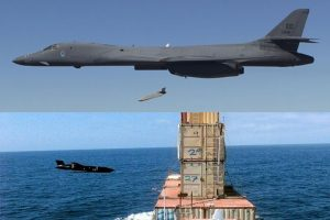 B-1B bomber Successfully tested Long Range AGM-158C LRASM Anti-Ship Missile