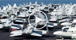 When An Aircraft Carrier Goes To War