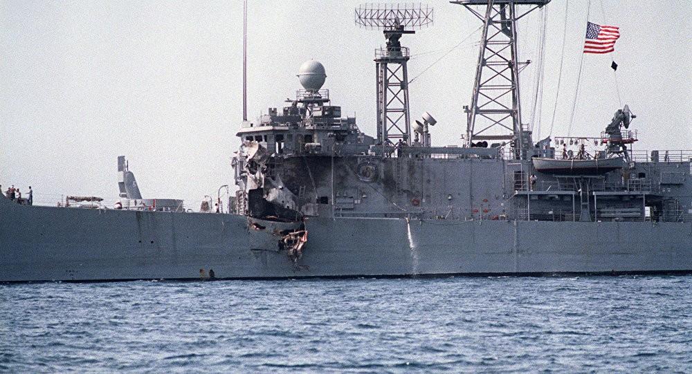 When Iraqi jet Aircraft Struck an American Frigate USS Stark and Killed 37 Sailors a