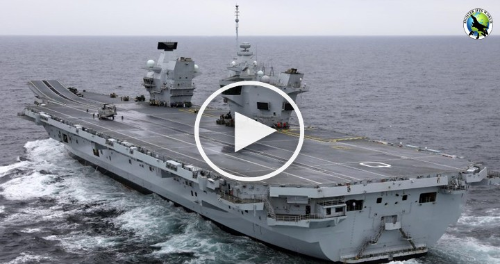 HMS Queen Elizabeth Aircraft Carrier - largest Royal Navy warships2