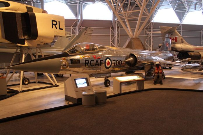 How Canadian Pilot managed to reach 100110 feet with CF-104 Starfighter
