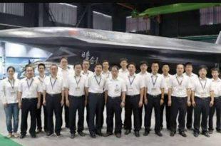 China unveils unmanned 'Dark Sword' UCAV stealth combat drone