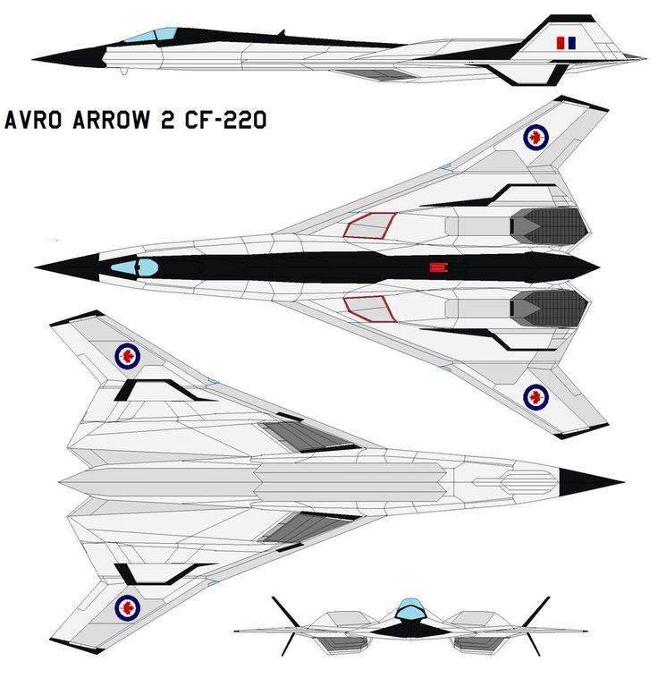Avro Arrow 2 CF-220