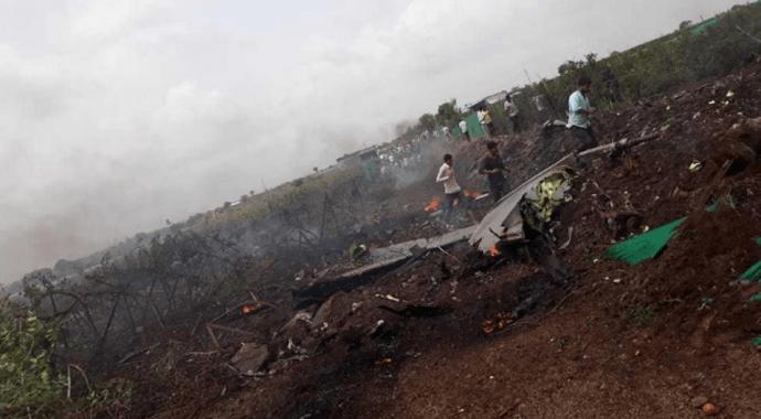 IAF Su-30MKI fighter jet Crashed near Nashik, Maharashtra