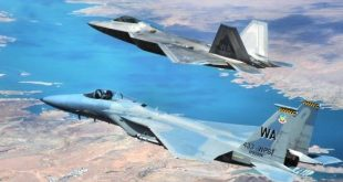 4 F-22s and 4 F-15s 'Killed' 41 Fighters jets During Mock Combat