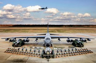 B-52 Bomber's External Weapons Load to be Quadrupled