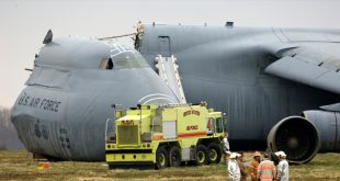 Analysis and video of C-5 Galaxy crash at Dover Air Force Base