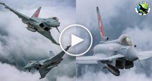Eurofighter Typhoon multirole fighter jet