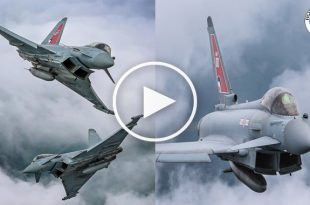 Eurofighter Typhoon multirole fighter jet