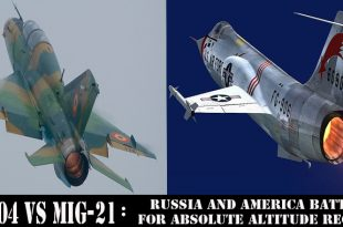 F-104 vs MiG-21 | Russia and America Battle for Absolute Altitude record