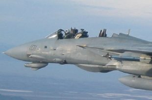 """When a F-14 Pilot landed tomcat with without canopy - """"I'VE LOST MY RIO"""""""