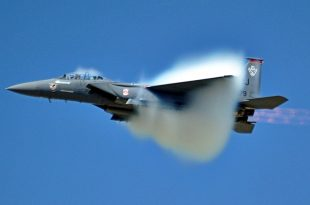 F-15 pilot ejected while flying at supersonic speeds