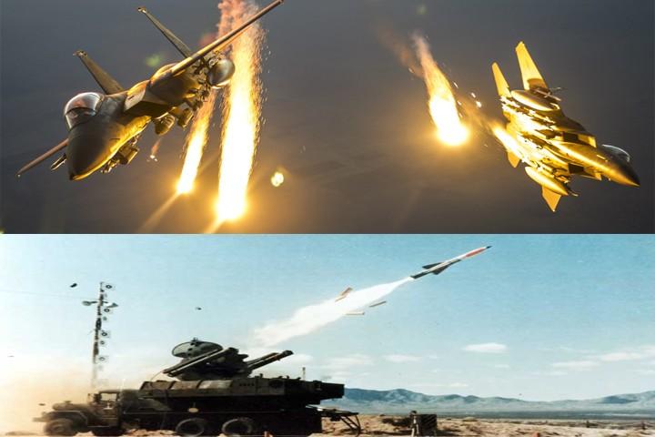 F-15E CREW THAT DODGED TWO IRAQI Roland SAMs missile