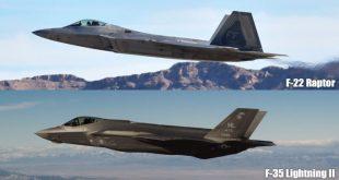 F-22 Raptor vs F-35 Lightning Head to Head