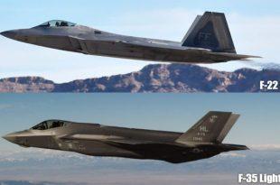 Lockheed Martin F-22 Raptor vs Lockheed Martin F-35 Lightning II - Head to Head Comparison
