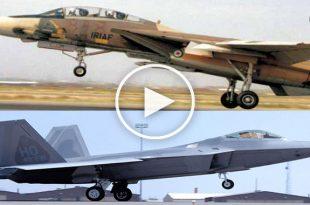 US F-22 Raptor vs IRAN F-14 Tomcat