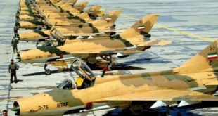 Iran F-7 fighter jet crashed crashes in Isfahan province, pilots eject