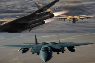 The story of an Iraqi MiG-29 crashed trying to shoot down a USAF F-15E