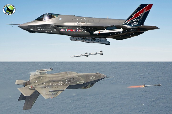 US will have to replace AIM-120 AMRAAMs and AIM-9 Sidewinders