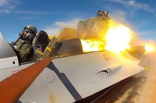 High-Speed Rocket sled ejection seat testing at Holloman AFB