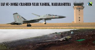 IAF Su-30MKI fighter jet Crashed in an open farm field near Pimpalgaon Baswant town in Nashik, Maharashtra No casualties have been reported yet. Both pilots are said to have ejected safely. Sukhoi Su-30MKI crashed in Wavi-Tushi village at around11 am The Sukhoi Su-30MKI was an under-production aircraft of Hindustan Aeronautics Limited (HAL). Therefore, it wasn't yet part of the Indian Air Force (IAF) The cause of the crash is speculated to be a technical failure in the aircraft, although it can only be confirmed after primary investigations. The investigation team has been sent to the scene to look into the incident. The Sukhoi Su-30MKI twinjet aircraft is produced under license by India's state-owned Hindustan Aeronautics Ltd.