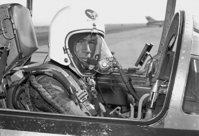 On December 1959: Air Force test pilot Captain Joe Bailey Jordan, United States Air Force, established a Fédération Aéronautique Internationale (FAI) World Record for Altitude. Captain Joe Jordan zoomed to 103,395.5 feet in a modified F-104C.