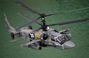 Kamov's Ka-52 Alligator Attack Helicopter
