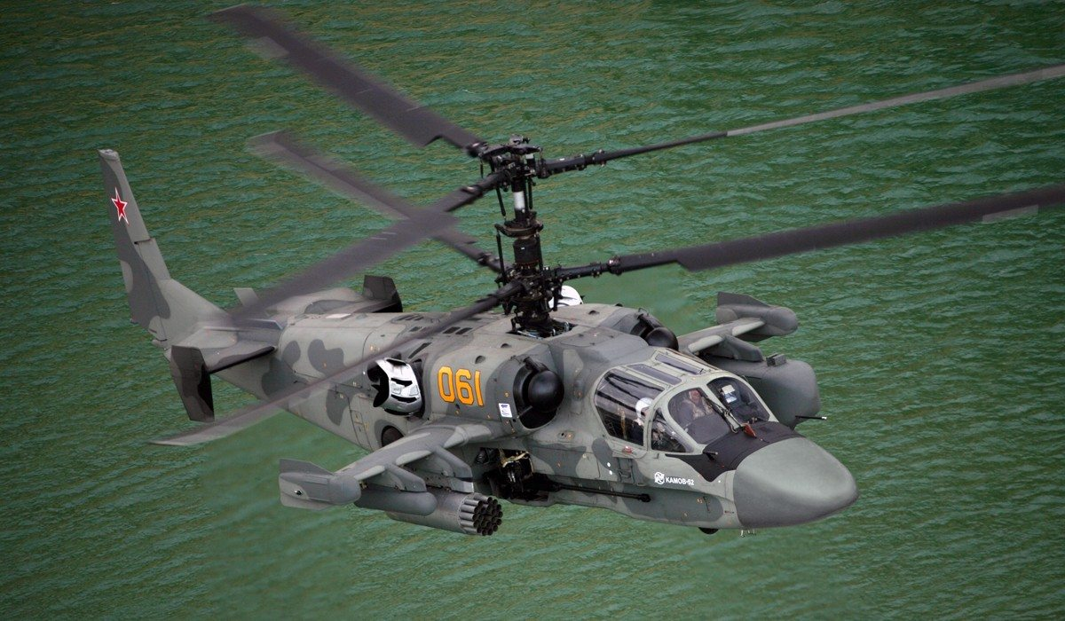 Kamov's Ka-52 Alligator Attack Helicopter