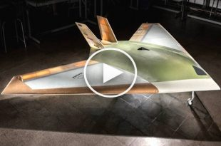 Drone With No Moving Control Surfaces - Maneuver Using Supersonic Blasts of Air