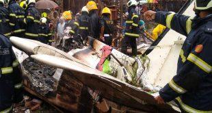 Beechcraft King Air C90 aircraft Crashed in Mumbai Five dead 1
