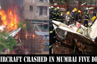 Beechcraft King Air C90 aircraft Crashed in Mumbai Five dead