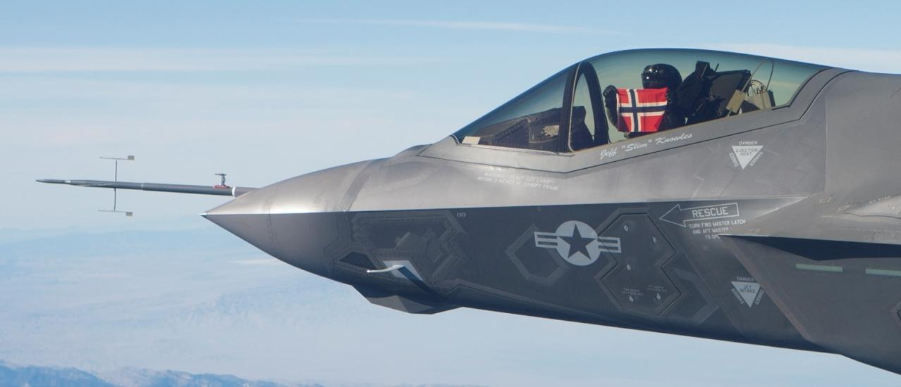 Norwegian F-35 Spy on its Owner Send Sensitive Data Back to U.S.A.
