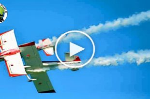 Video of Two-plane collision at Tortoreto air show