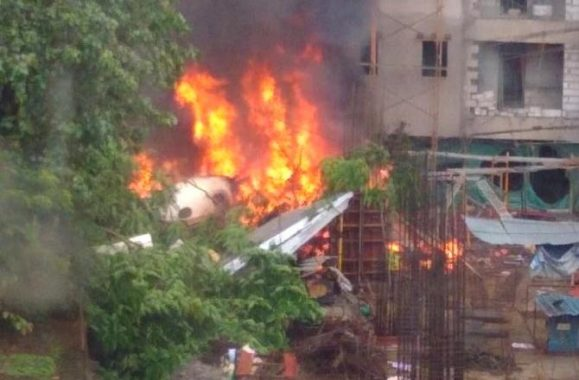 Beechcraft King Air C90 aircraft Crashed in Mumbai Five dead 2