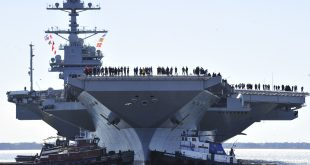 Problems with Navy New $13 Billion USS Gerald R. Ford Super carrier