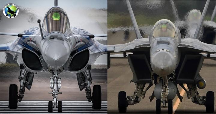 Dassault Rafale v/s Boeing F/A-18E/F Super Hornet | Fighter