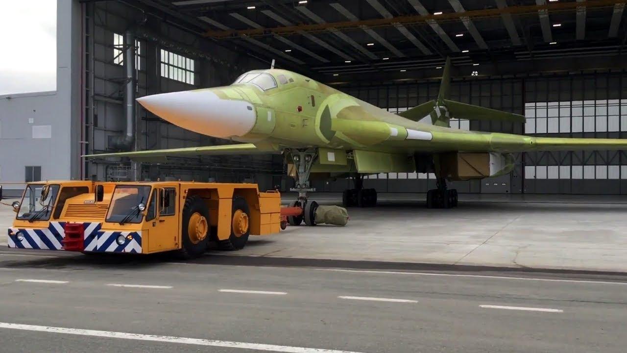 Russia New Tu-160M2 Super Bomber NATO's Worst Nightmare