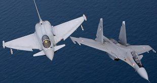 IAF Sukhoi Su-30MKI vs RAF Euro-fighter Typhoon