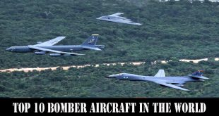 Top 10 bomber aircraft in the World