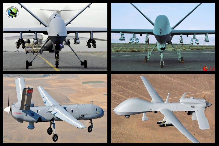 Top 10 Unmanned combat aerial vehicle / military drones List