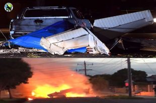Cessna 172 aircraft crashed in street near Moorabbin Airport, Pilot dead
